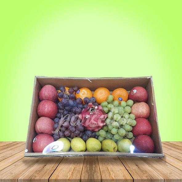 Christmas - Fruit in a box 2